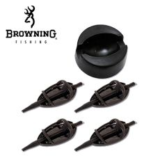 Browning method feeder set