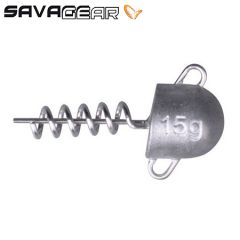 Savage Gear Cork Screw Heads 15gr