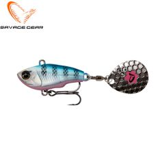 Savage Gear Fat Tail 6,5cm  16gr Blue Silver Pink
