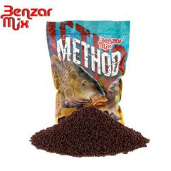 Benzar Mix Method peleti 2mm Red Halibut