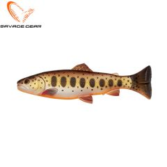 Savage Gear Craft Trout pulsetail Brown Trout Smolt 16cm