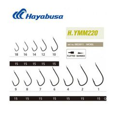 Hayabusa YMM 220 trnki Black Nickel