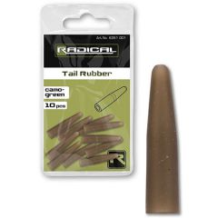Radical tail Rubber Camo Green