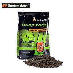 Tandem Baits Carp Food Ultra Fish Pellet - HALIBUT 4mm/1kg